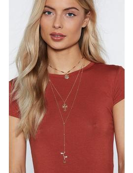 Oh You Charmer Layered Necklace by Nasty Gal