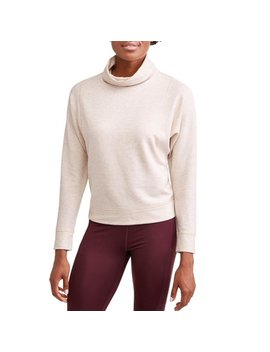 Women's Athleisure Cowl Neck Pullover Sweatshirt by Avia