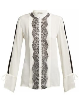 Bahidora Silk And Lace Shirt by Etro