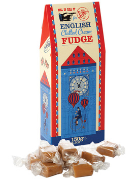 English Clotted Cream Fudge 150g by Mr Stanley's