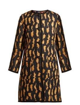 Rosemont Reversible Cotton Blend Coat by Etro