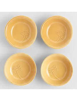 Fall Leaves Dipping Bowls Set Of 4 by World Market