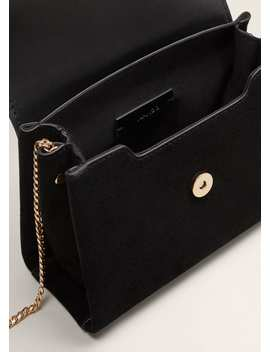 Ring Leather Bag by Mango