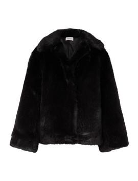 Châtel Oversized Faux Fur Jacket by Totême