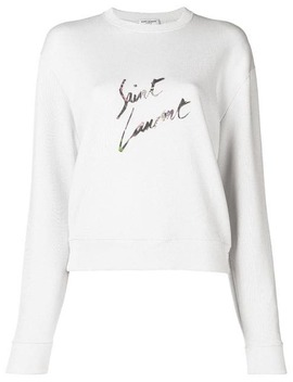 Graphic Logo Sweatshirt by Saint Laurent