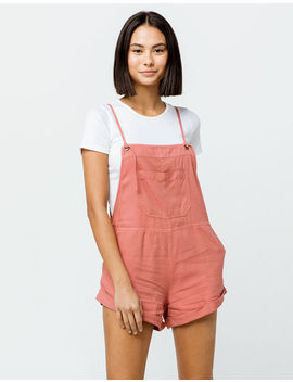 Billabong Wild Pursuit Red Clay Womens Shortalls by Billabong