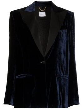 Madgeburg Embellished Velvet Trench Coat by Magda Butrym