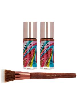 Josie Maran Super Size Vibrancy Foundation With Brush by Josie Maran