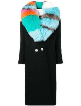 Contrast Collar Coat by Giada Benincasa