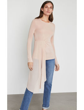 Asymmetrical Drape Top by Bcbgmaxazria