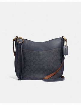 Chaise Crossbody In Signature Canvas by Coach