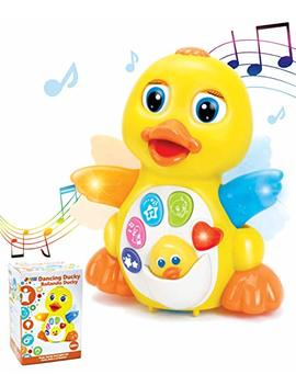 Joyin Dancing Walking Yellow Duck Baby Toy With Music And Led Light Up For Infants, Toddler Interactive Learning Development, School Classroom Prize And Children by Joyin