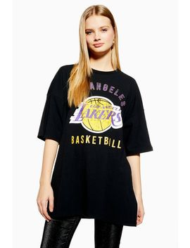 Lakers Oversized Boyfriend T Shirt by Topshop