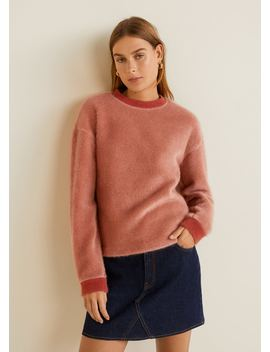 Sweatshirt De Pelo by Mango