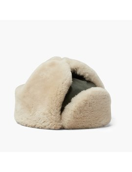 Best Made Co.® Ventile Shearling Rcmp Hat by Best Made Co.