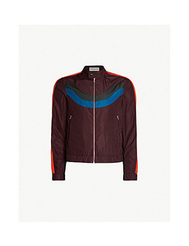 Colour Blocked Shell Jacket by Dries Van Noten