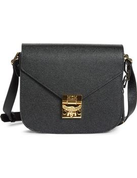 Small Rgb Leather Shoulder Bag by Mcm