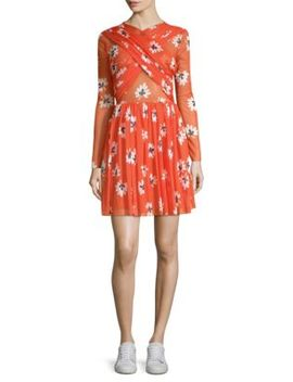 Tilden Floral Mini Dress by Ganni