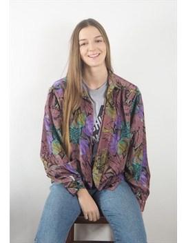 Vintage 90's Fleur Abstract Shirt by Kapada Vintage