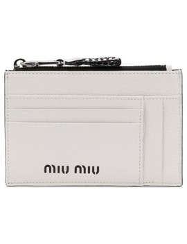 Zipped Cardholder by Miu Miu