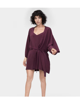 Lolla Silk Robe by Ugg