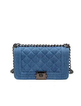 Brand Denim Bag Female Luxury Handbags Women Bags Designer Small Chain Shoulder Crossbody Bags For Women Messenger Bag by Paddy Meredith