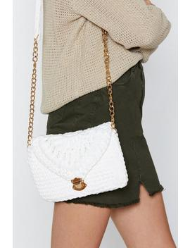 Want Weave Got Each Other Crossbody Bag by Nasty Gal