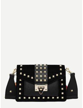 Studded Decor Crossbody Bag by Sheinside