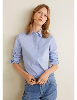 Camisa Riscas by Mango