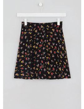 Girls Candy Couture Floral Button Skater Skirt (9 16yrs) by Matalan