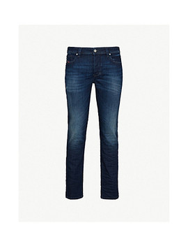 Larkee Beex Slim Fit Tapered Stretch Denim Jeans by Diesel
