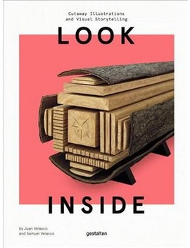 Look Inside : Cutaway Illustrations And Visual Storytelling (Hardcover) by Target