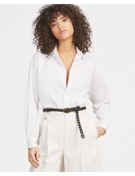 Boyfriend Fit Broadcloth Shirt by Ralph Lauren
