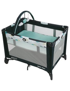 Graco Pack 'n Play On The Go Playard With Bassinet, Stratus by Graco
