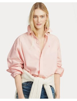 Pink Pony Cotton Button Down by Ralph Lauren