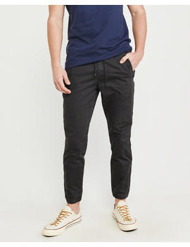 Classic Twill Joggers by Abercrombie & Fitch