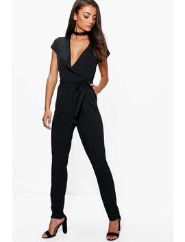 Tall Woven Jumpsuit by Boohoo