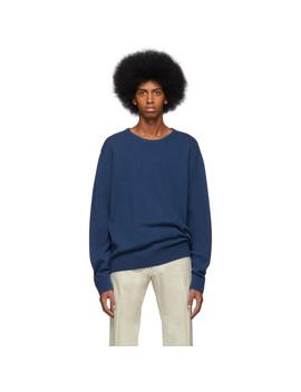 Blue Naples Sweater by Dries Van Noten