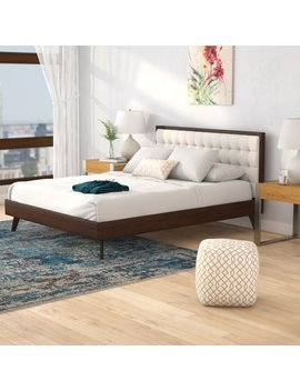 Corrigan Studio Abril Queen Upholstered Platform Bed & Reviews by Corrigan Studio