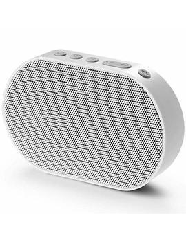 Ggmm Altoparlante Bluetooth Senza Fili Con Amazon Alexa Suono Stereo Cassa Portatile Speaker Multiroom Altoparlante 10 W Bianco by Ggmm