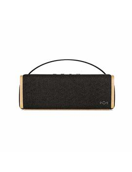 House Of Marley Riddim Bt Cassa Autoparlante Portatile Bluetooth Wireless, Fino A 10h Di Riproduzione, Dsp Avanzato, Comandi Vocali, Microfono Integrato, Ingresso Aux, 5 W, Nero/Legno by Marley