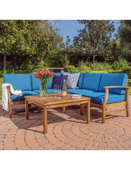 Lark Manor Pardue  6 Piece Sectional Set With Cushions & Reviews by Lark Manor