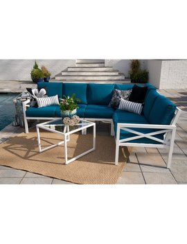 Alcott Hill Hallie 5 Piece Sectional Set With Cushions & Reviews by Alcott Hill