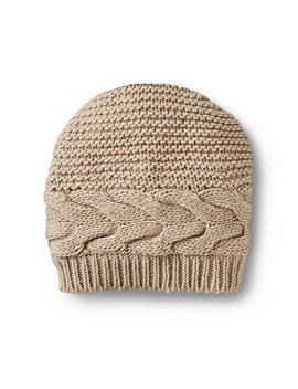Cable Slouch Hat by Denver Hayes