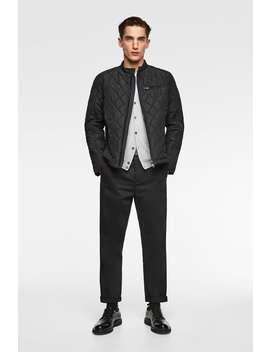 Quilted Biker Jacket  New Inman New Collection by Zara