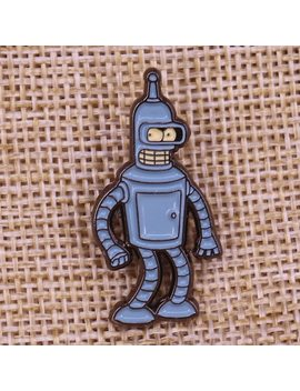 Bender Futurama Enamel Pin by Gu De Ke