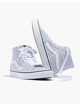 Vans® Sk8 Hi High Top Sneakers In Canvas And Suede by Madewell