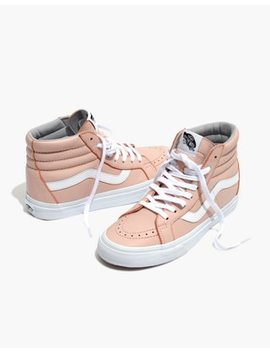 Vans® Unisex Sk8 Hi Reissue High Top Sneakers In Oxford Pink Leather by Madewell
