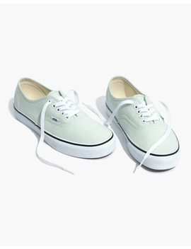 Vans® Unisex Authentic Sneakers In Blue Flower Canvas by Madewell