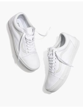Vans® Unisex Old Skool Lace Up Sneakers In Canvas And Suede by Madewell